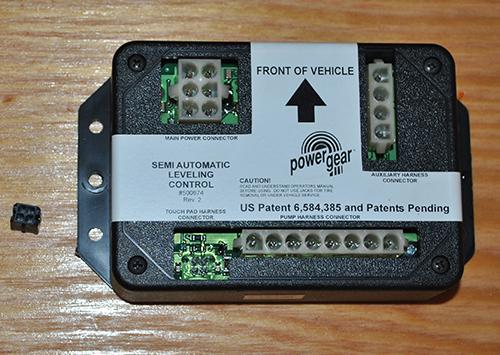 powergear jacks control pad works  pump wont start